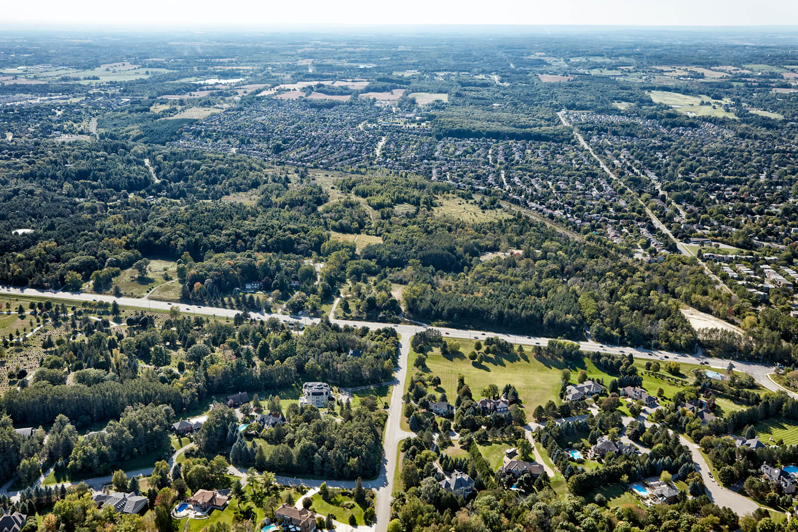 Woodhaven aerial